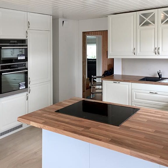 Hyggelig IKEA kjøkken | Fagservice AS RW-42