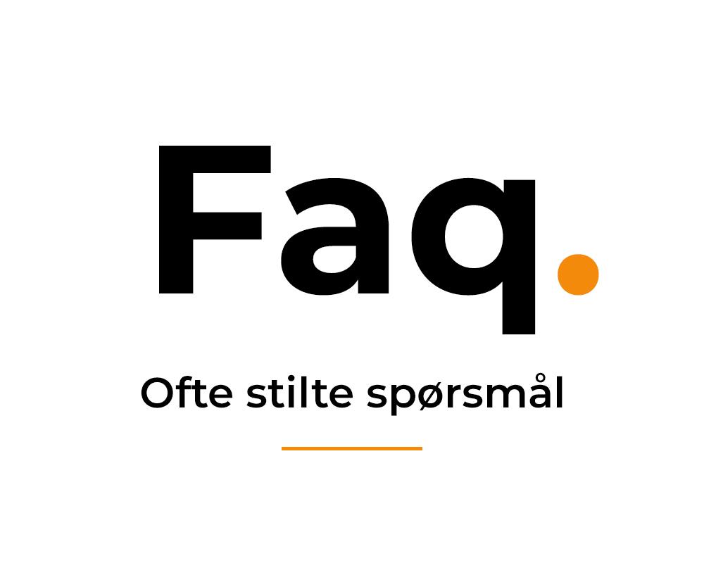 4dc233a17 FAQ   Ofte stilte spørsmål og svar   Fagservice AS