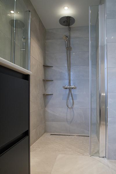 Bilde av ny dusjnisje